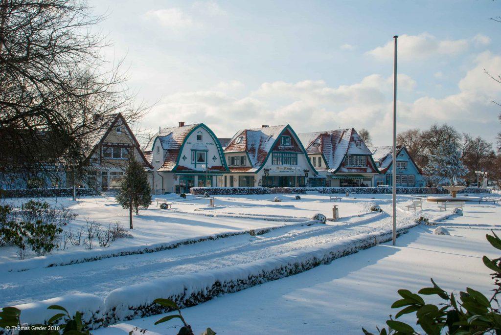 Boltenhagen im Schnee
