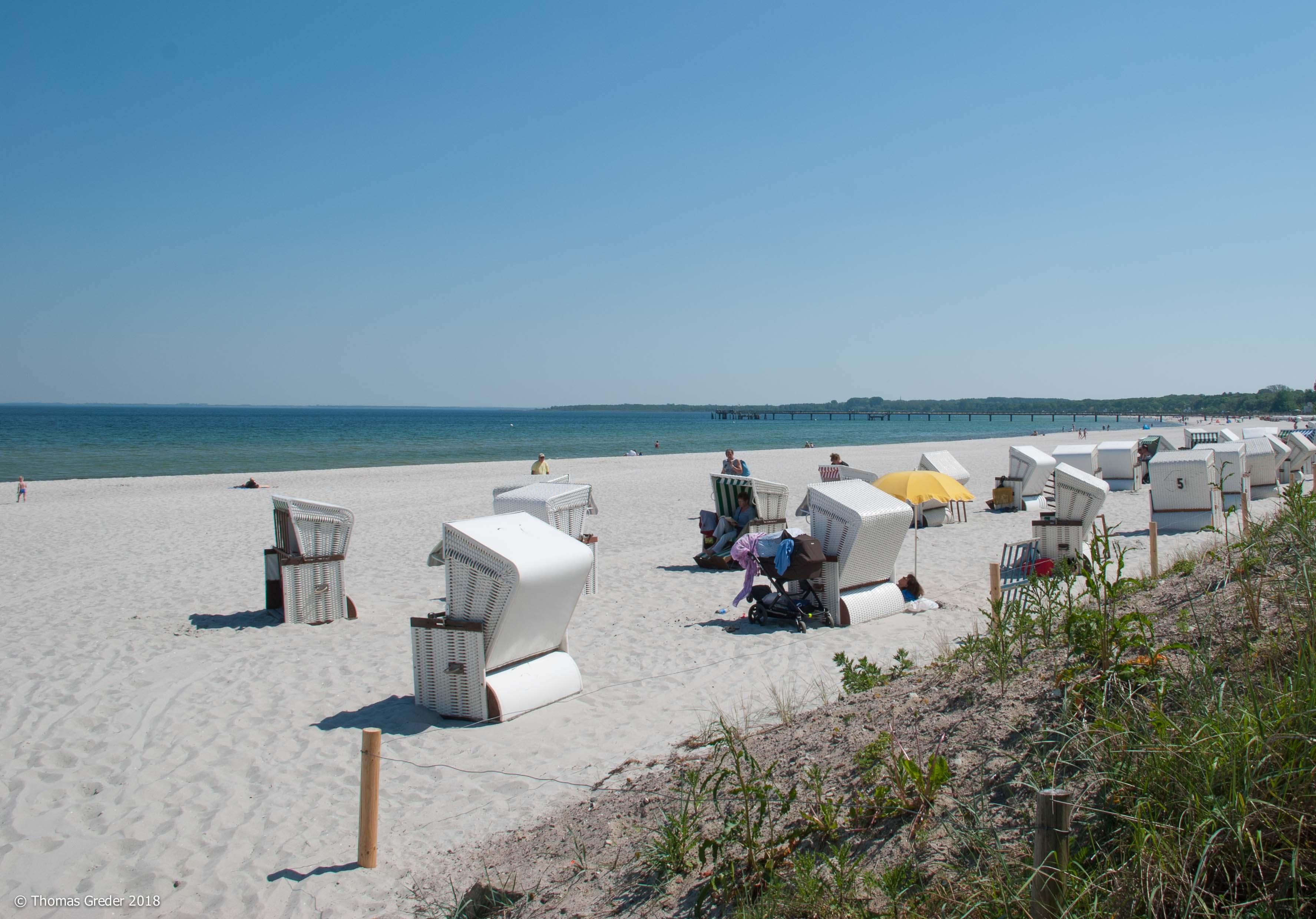 Strandkörbe in Boltenhagen