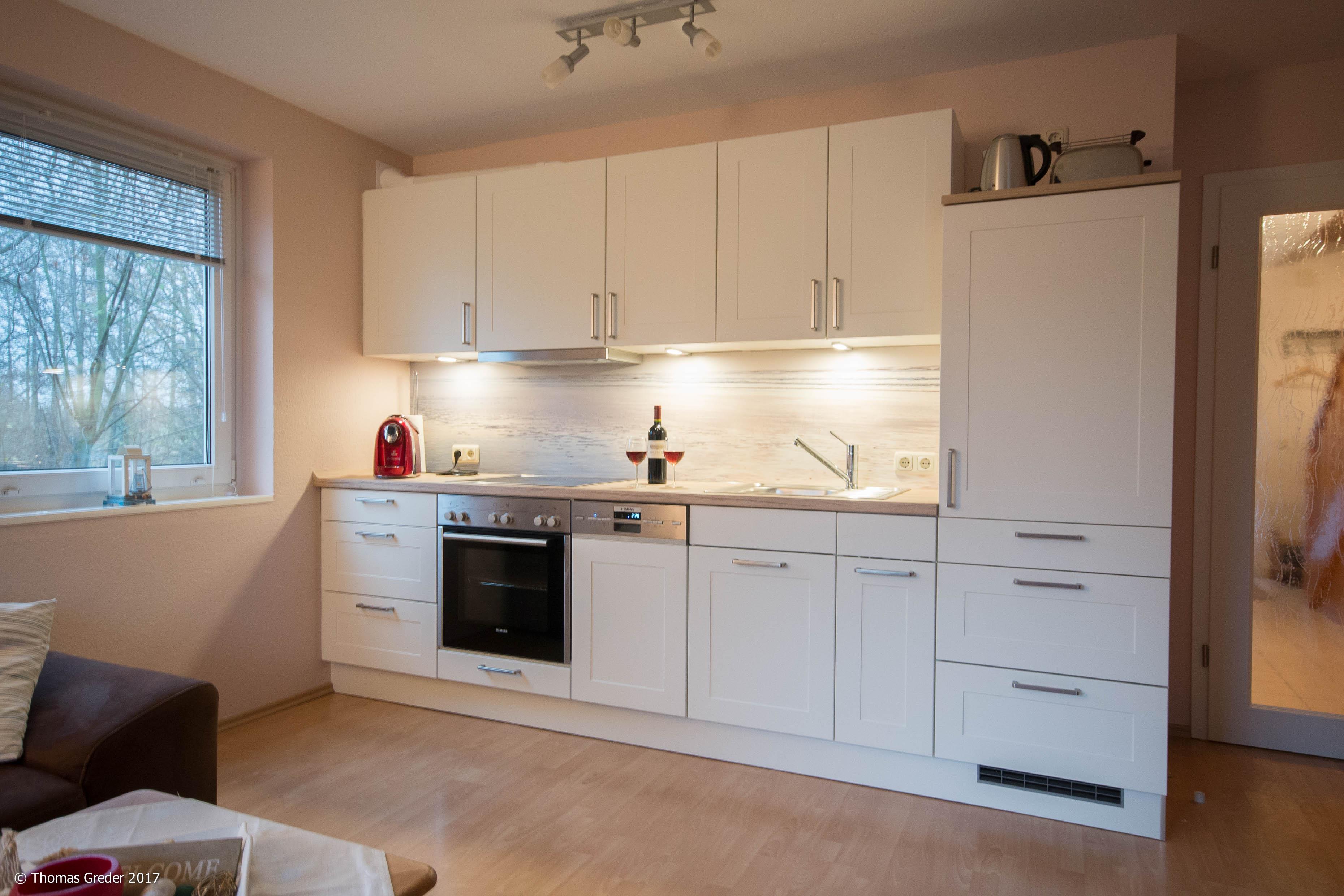 Neue Küche in weiß