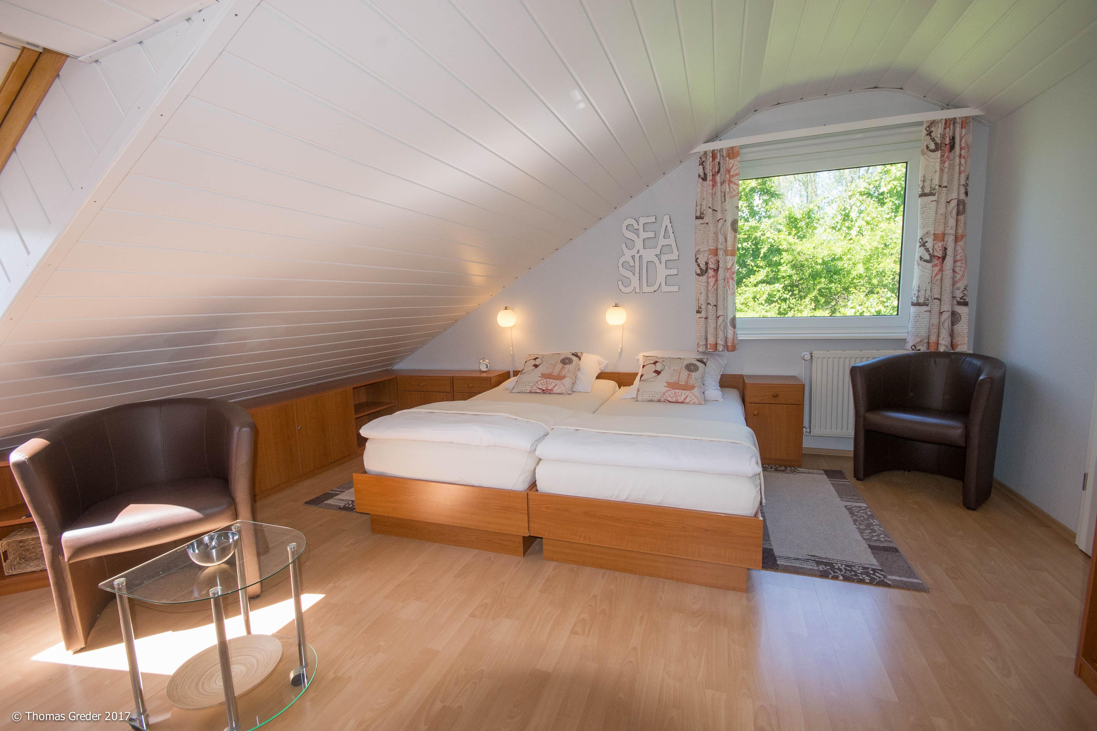 Schlazimmer im Obergeschoss
