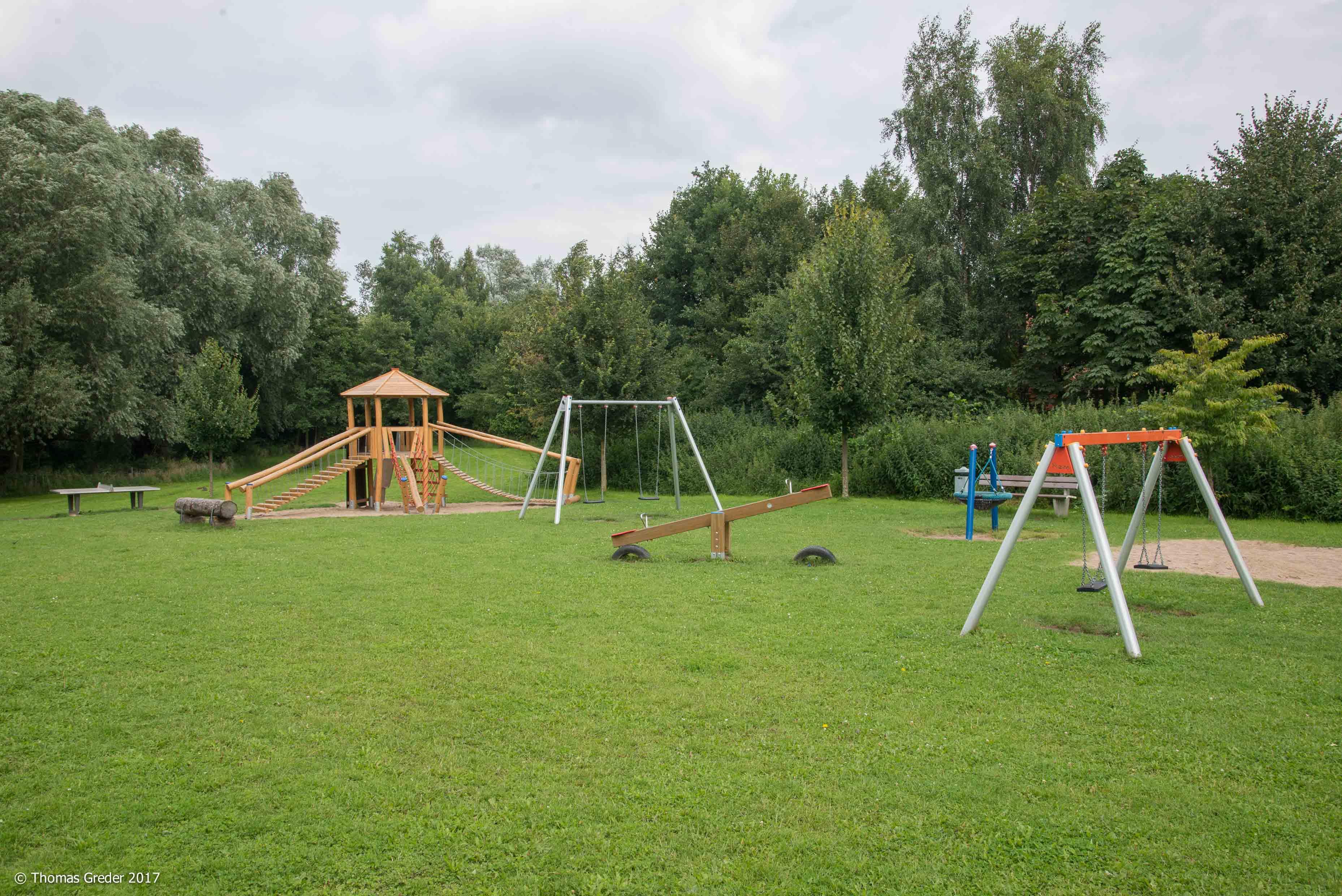 Spielplatz im Urlauberdorf